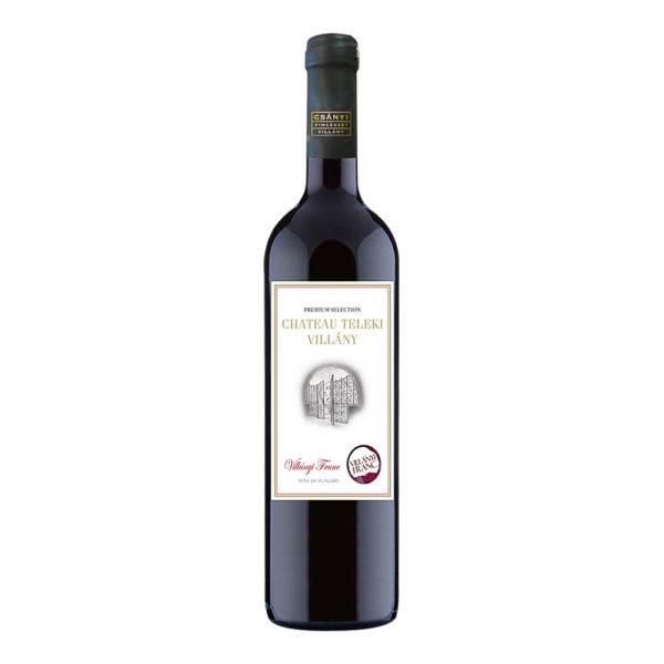 Teleki Chateau Villányi Franc száraz vörösbor 075 vásárlás