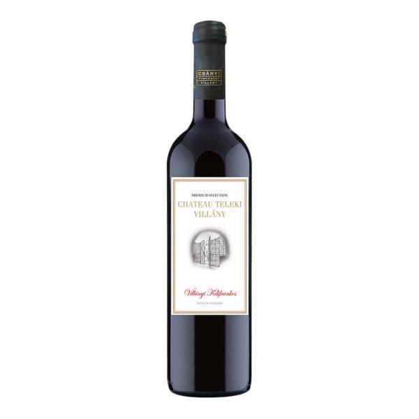 Teleki Chateau Villányi Kékfrankos száraz vörösbor 075 vásárlás