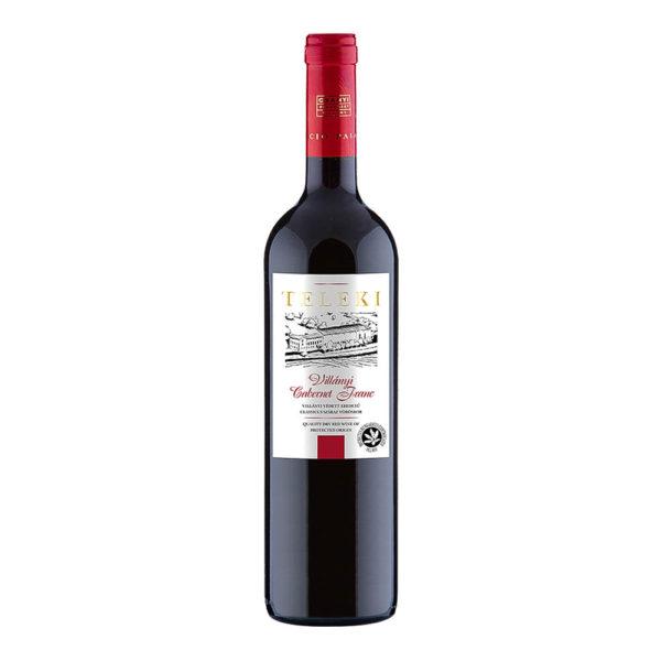 Teleki Válogatás Gasztro Villányi Cabernet Franc száraz vörösbor 075 vásárlás