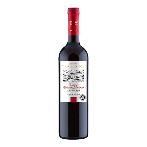 Teleki Válogatás Gasztro Villányi Cabernet Sauvignon száraz vörösbor 075 vásárlás