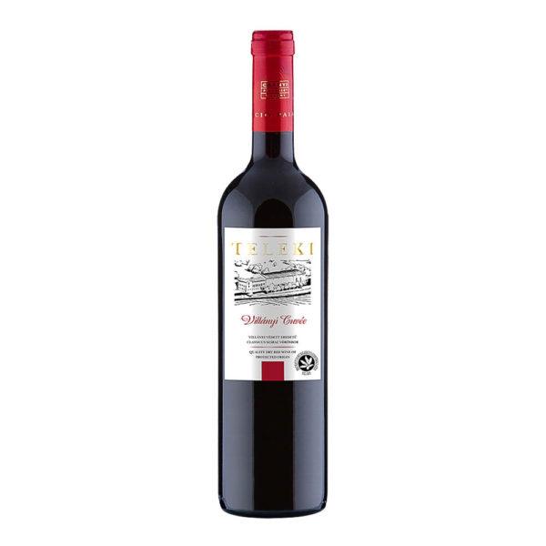 Teleki Válogatás Gasztro Villányi Cuvée száraz vörösbor 075 vásárlás