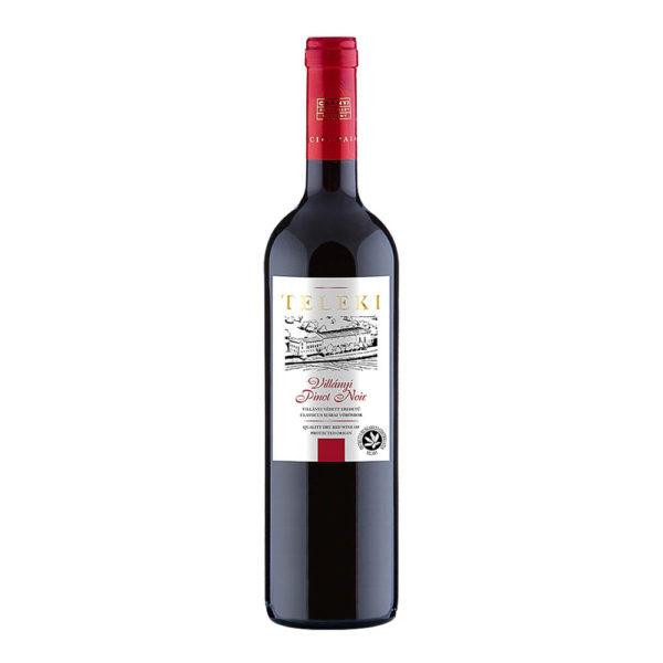 Teleki Válogatás Gasztro Villányi Pinot Noir száraz vörösbor 075 vásárlás