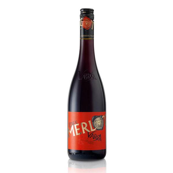 Varga Merlot édes vörösbor 075 vásárlás