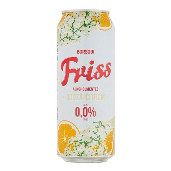 Borsodi Friss Bodza Citrom sör 05 dobozos 0 vásárlás