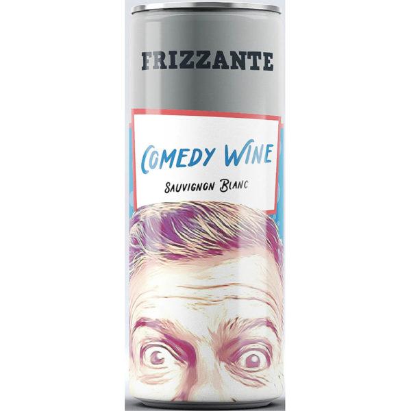 Comedy Wine Sauvignon Blanc fehér száraz gyöngyözőbor 025 dobozos vásárlás