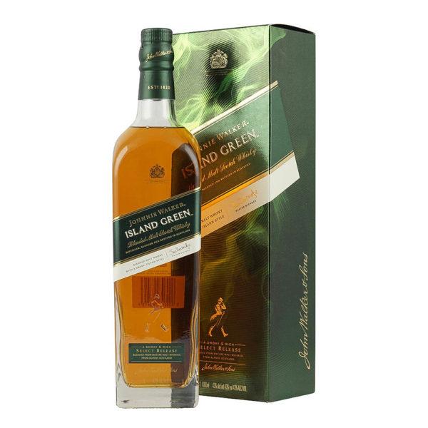 Johnnie Walker Island Green whisky 10 pdd. 43 vásárlás