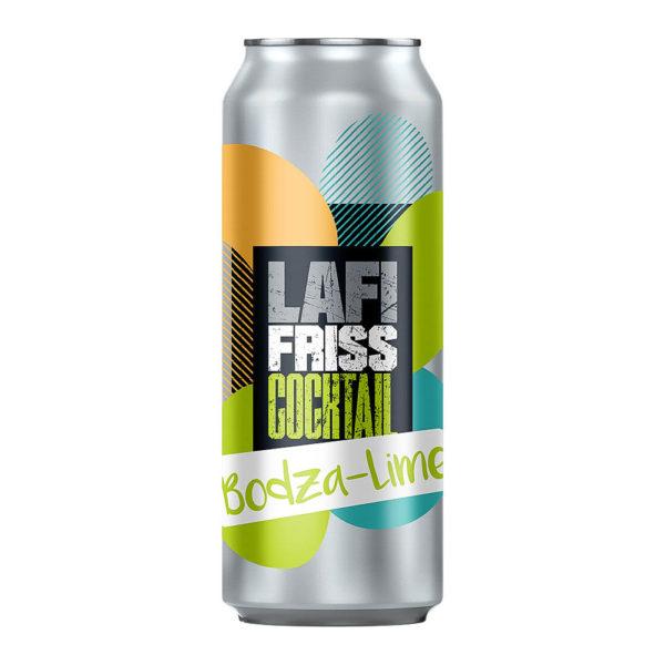 Lafi Friss Cocktail Bodza Lime boralapú koktél 025 dobozos vásárlás