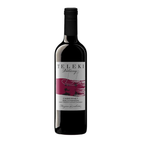 Teleki Cabernet Sauvignon 2018. száraz vörösbor 0375 vásárlás