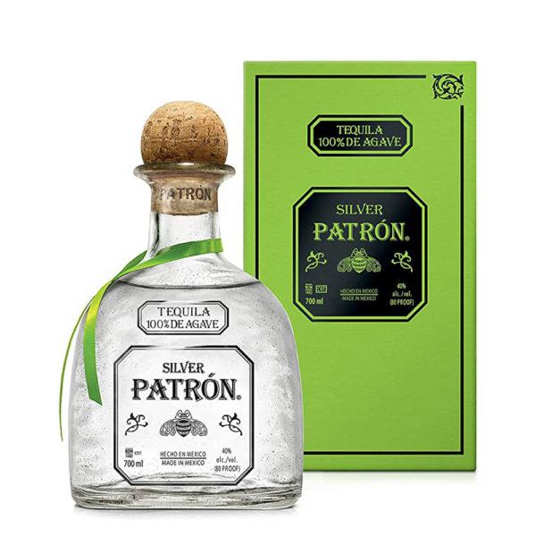 Tequila Patrón Silver 07 pdd. 40 vásárlás