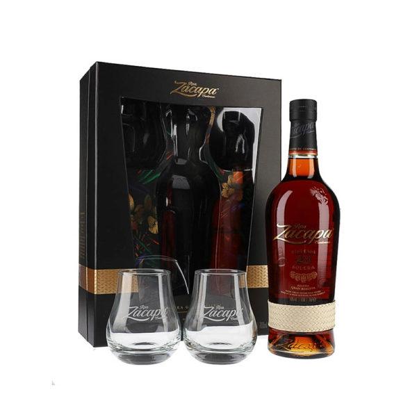 Zacapa Centenario 23 éves guatemalai rum 07 pdd. 2 pohár vásárlás