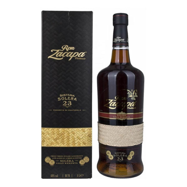 Zacapa Centenario 23 éves guatemalai rum 10 dd. 40 vásárlás