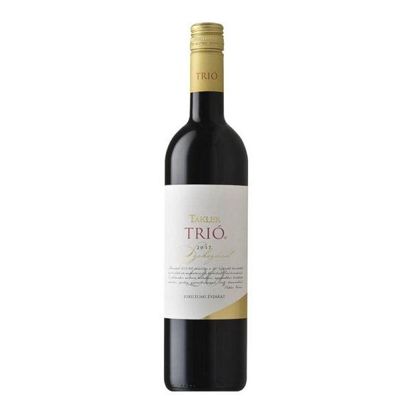 Takler Trió 2017. Jubileumi Évjárat száraz vörösbor 075 vásárlás