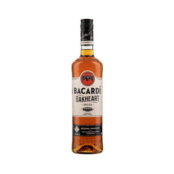 Bacardi Oakheart rum 07 35 vásárlás