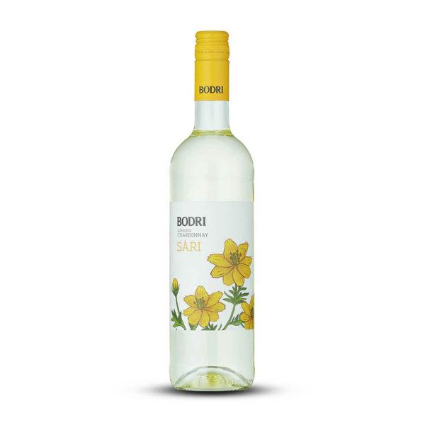 Bodri Szekszárdi Chardonnay SÁRI száraz fehérbor 075 vásárlás