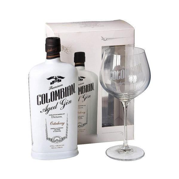 Dictador Colombian Aged Gin White Ortodoxy 07 pdd. pohár 43 vásárlás