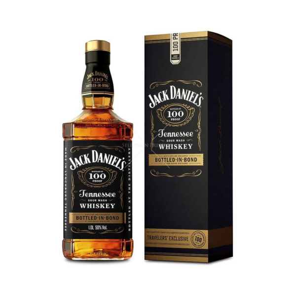 Jack Daniel s 100 Proof Bottled in Bond Tennessee Sour Mash whiskey 10 pdd. 50 vásárlás