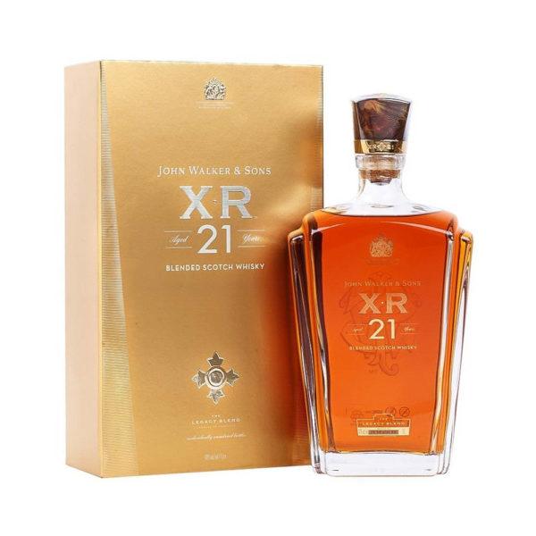 Johnnie Walker John Walker Sons Exclusive Blends XR 21 éves Blended Scotch whisky 10 pdd. 40 vásárlás