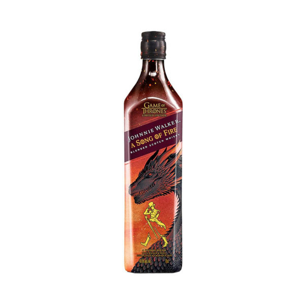 Johnnie Walker Song of Fire Game of Thrones Limited Edition Scotch whisky 07 408 vásárlás