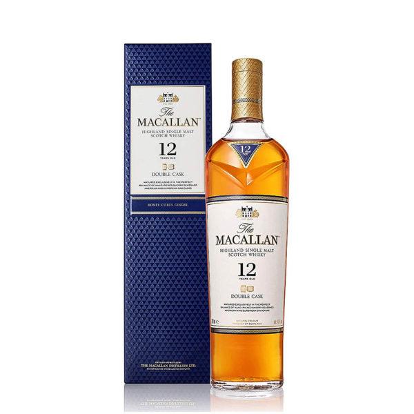 Macallan 12 éves Single Malt Double Cask Siongle Malt Scotch whisky 07 pdd. 40 vásárlás