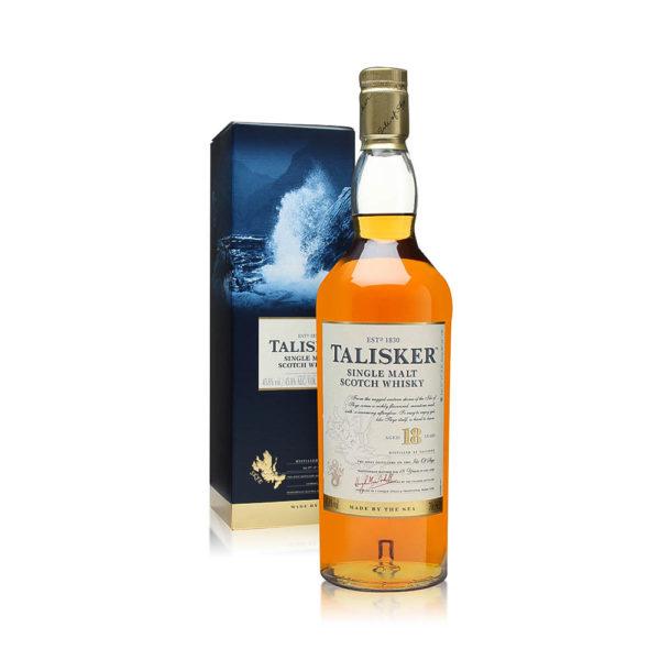 Talisker 18 éves Single Malt Scotch whisky 07 pdd. 458 vásárlás