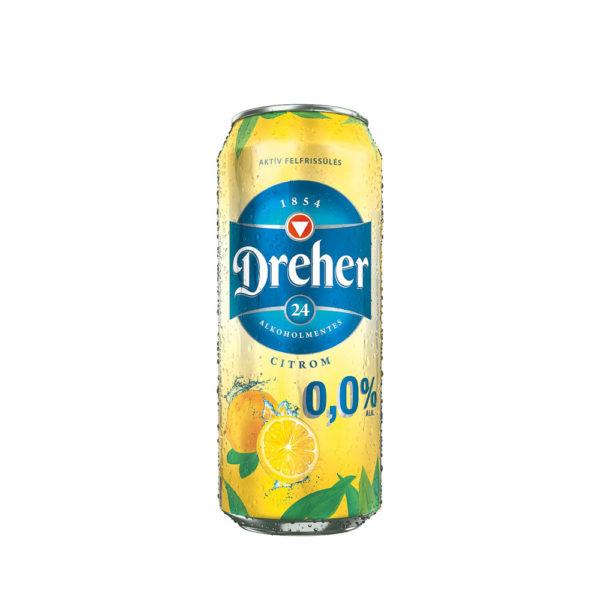 Dreher 24 CITROM alkoholmentes 05 dobozos sör vásárlás