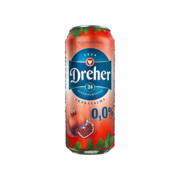 Dreher 24 GRÁNÁTALMA alkoholmentes 05 dobozos sör vásárlás