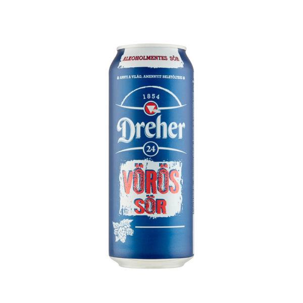 Dreher 24 VÖRÖS sör alkoholmentes 05 dobozos vásárlás