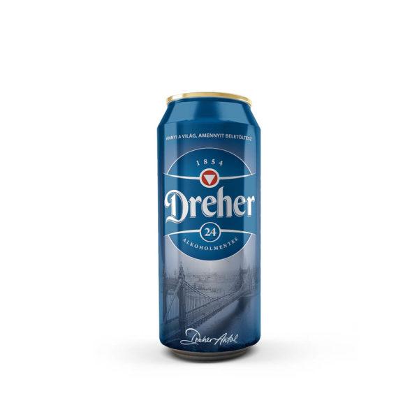 Dreher 24 alkoholmentes 05 dobozos sör vásárlás
