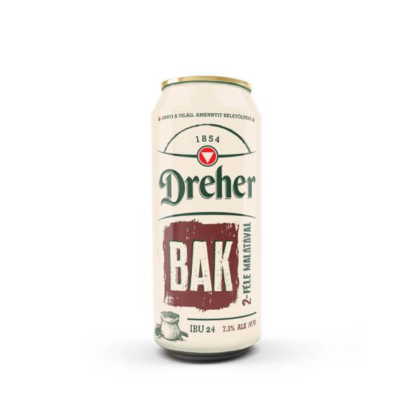Dreher Bak 05 dobozos sör 73 vásárlás