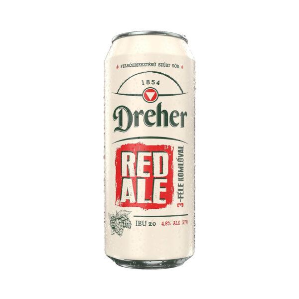 Dreher RED ALE 05 dobozos sör 48 vásárlás