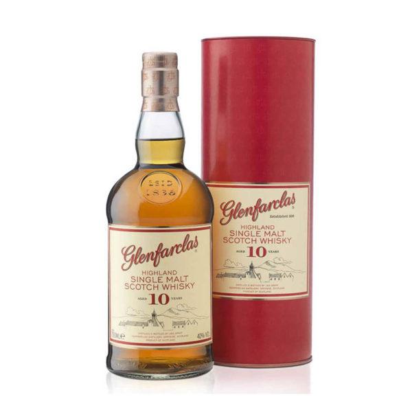 Glenfarclas 10 évas Single Malt Scotch whisky 07 pdd. 40 vásárlás