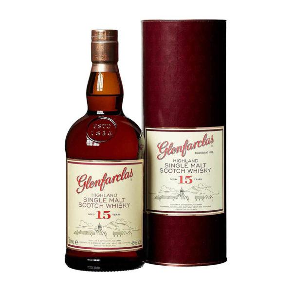 Glenfarclas 15 éves Single Malt Scotch Whisky 07 pdd. 46 vásárlás