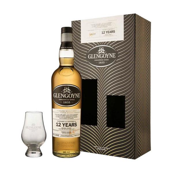 Glengoyne 12 éves Single Malt Scotch whisky 07 dd. pohár 43 vásárlás