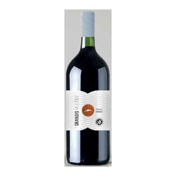 Grandis Villányi Cabernet Sauvignon 2015. száraz vörösbor 15 vásárlás