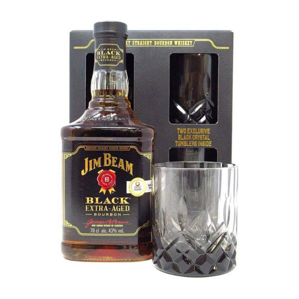 Jim Beam Black Extra Aged Bourbon whiskey 07 pdd. 2 pohár 43 vásárlás