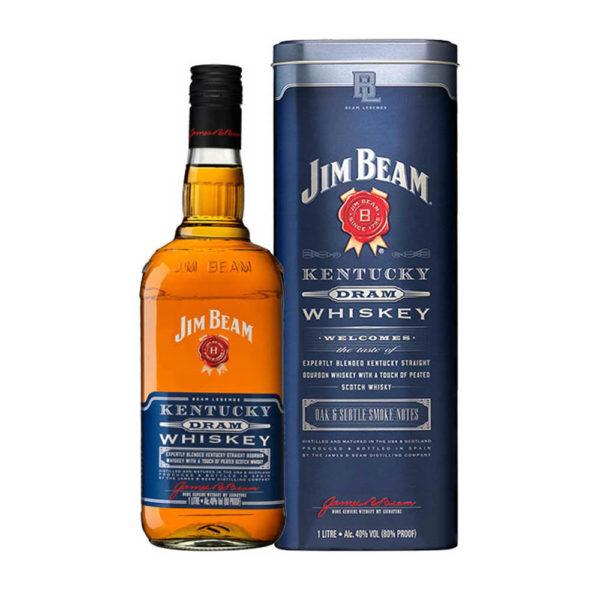 Jim Beam Kentucky Dram whiskey 10 fdd. 40 vásárlás