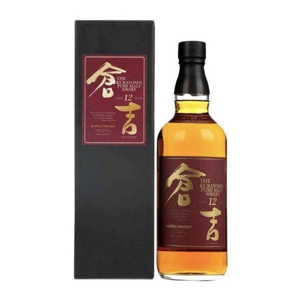 Kurayoshi Pure Malt 12 éves whisky 07 pdd. 43 vásárlás