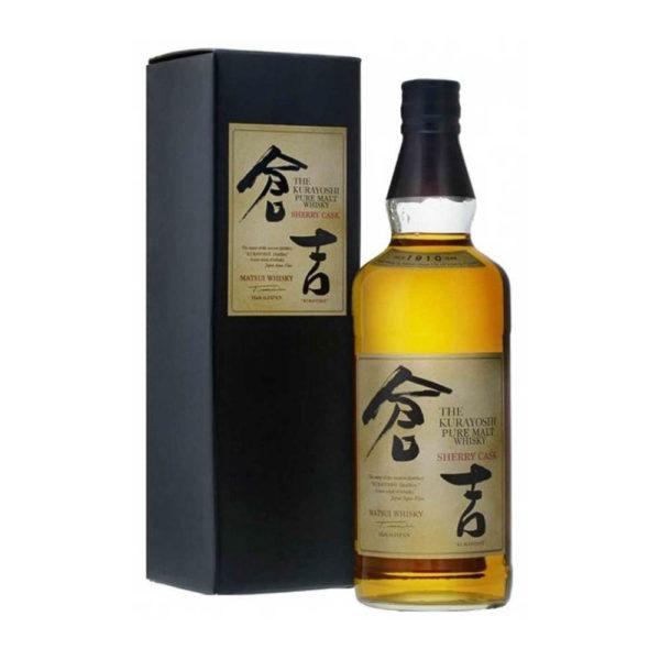 Kurayosi Pure Malt Sherry Cask whisky 07 pdd. 43 vásárlás