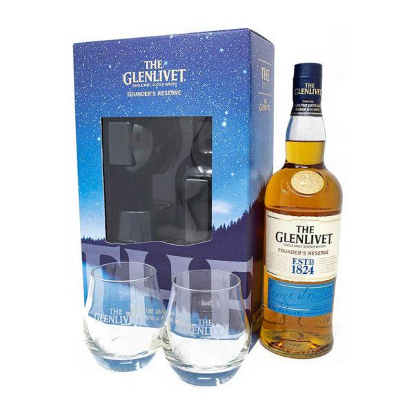 The Glenlivet Founder s Reserve Single Malt Scotch whisky 07 pdd. 2 pohár vásárlás
