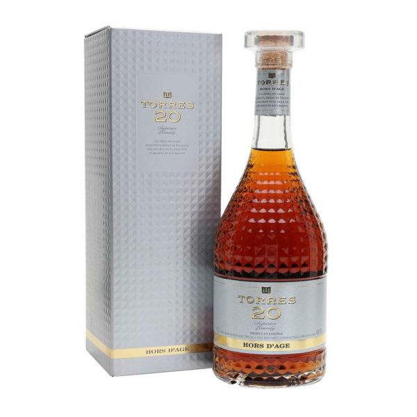 Torres 20 Hors d Age Superior Brandy 07 pdd. 40 vásárlás