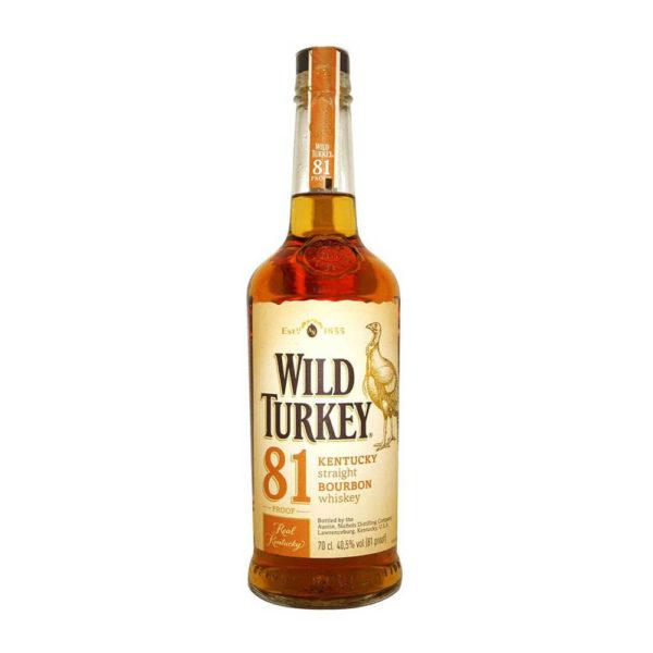 Wild Turkey 81 Proof Kentucky Straight Bourbon whiskey 07 405 vásárlás