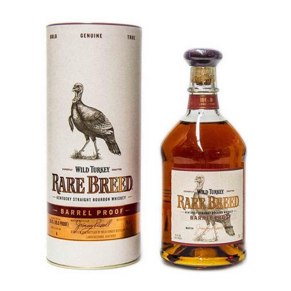 Wild Turkey Rare Breed Barrel Proof Kentucky Straight Bourbon whiskey 07 pdd. 584 vásárlás