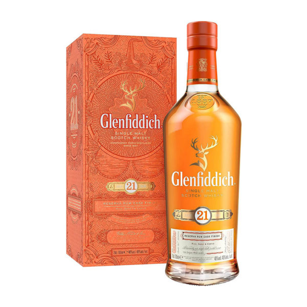 Glenfiddich 21 éves Single Malt Scotch whisky 07 pdd. 40 vásárlás