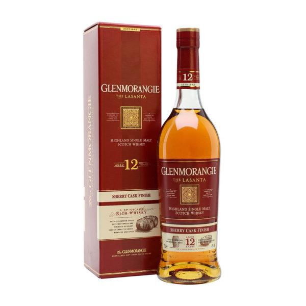 Glenmorangie The Lasanta Highland Single Malt Scotch whisky 07 pdd. 43 vásárlás
