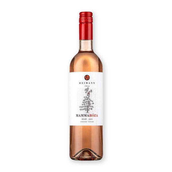 Heimann MammaRóza Rozé Cuvée 2019. száraz bor 075 vásárlás