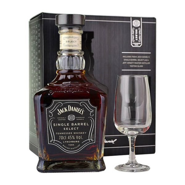 Jack Daniels Single Barrel Tennessee whiskey 07 pohár 45 vásárlás