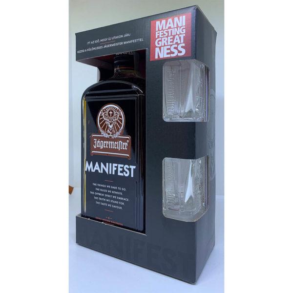 Jagermaister Manifest 10 pdd. 2 pohár 38 vásárlás