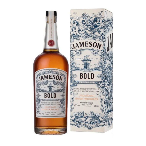 Jameson BOLD Ír whiskey 10 pdd. 40 vásárlás