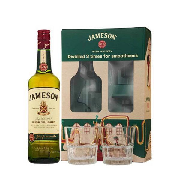 Jameson Ír whiskey 07 pdd. 2 pohár vásárlás