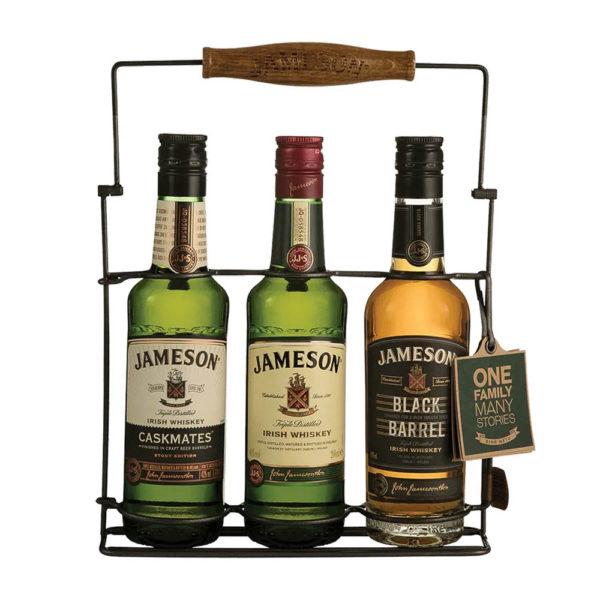 Jameson Irish whisky Trio 3x02 fém állványon 40 vásárlás